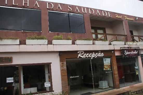 Hotel Pousada Ilha da Saudade: Acceso ppal a la Pousada.