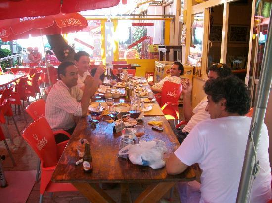 Mar's Bar : table 1