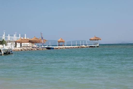 Ilica Hotel Spa & Thermal Resort: vue de la plage