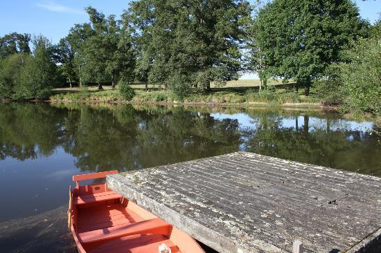 Domaine des Etangs : lac privatif