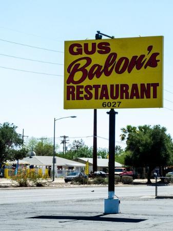Gus Balon S Restaurant Tucson Arizona