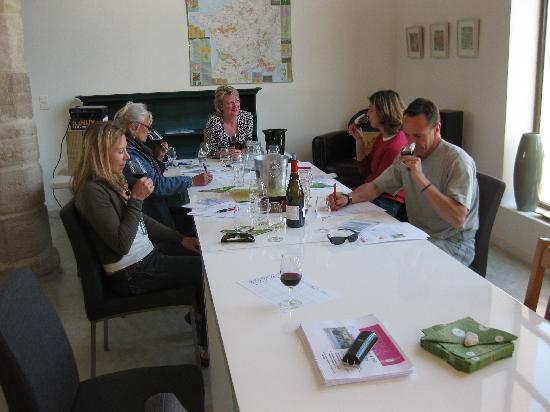 Auberge du Vin: In the classroom