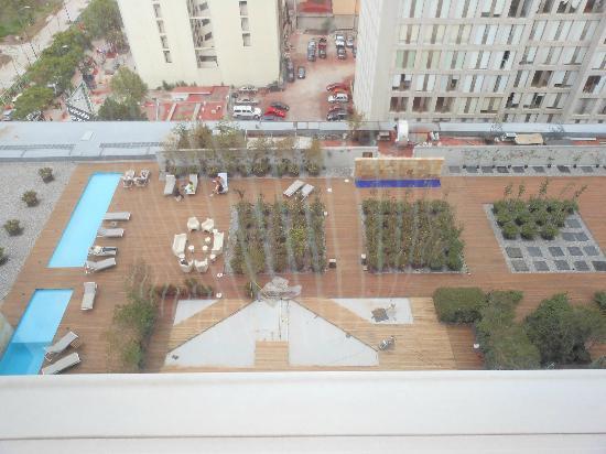 Hilton Mexico City Reforma: Vista ala derecha