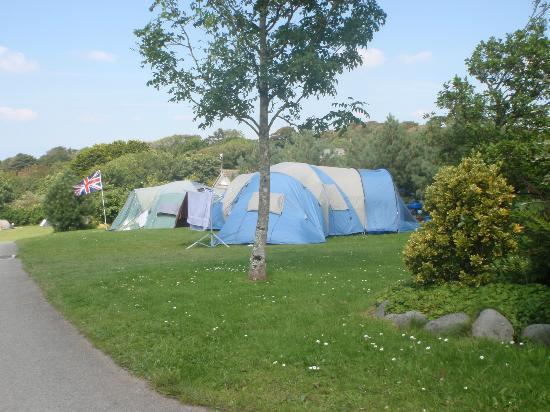 Pentire Haven Holiday Park: Great spot for camping