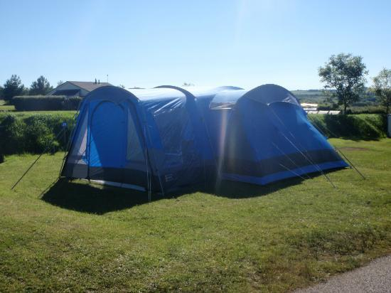Pentire Haven Holiday Park: Large pitches