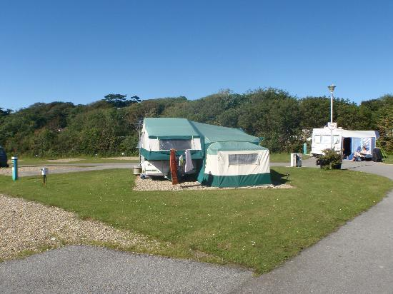Pentire Haven Holiday Park: hardstandings