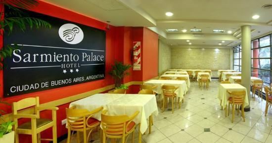 Sarmiento Palace Hotel: Salón comedor