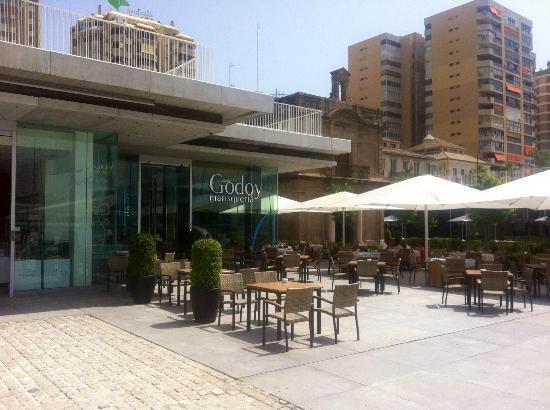 Marisquería Godoy: Terrace of Godoy Marisqueria