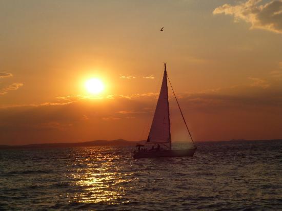 Zadar, Kroatia: zara: il tramonto più bello del mondo!