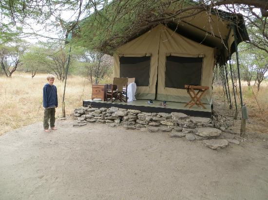 Manyara Ranch Conservancy: Kids tent