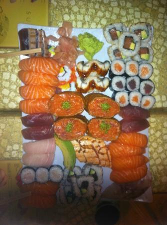 Akeru sushi: miam!!