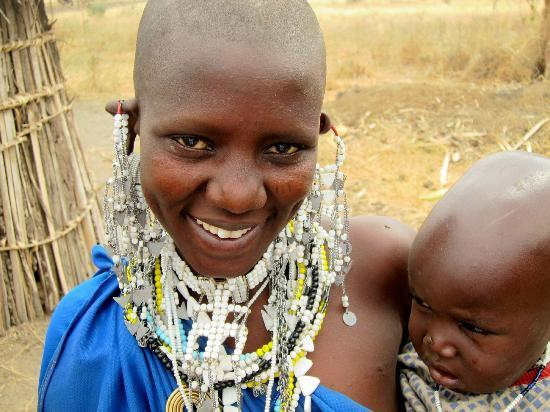 Manyara Ranch Conservancy: Visit to Massai village