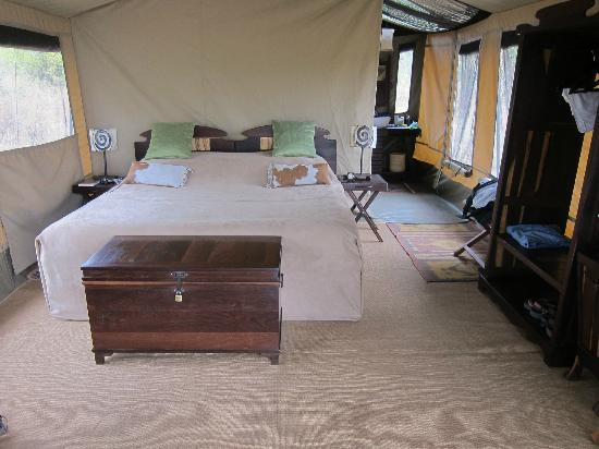 Manyara Ranch Conservancy: Inside the tent