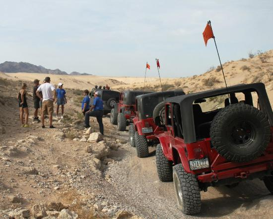 Las Vegas Rock Crawlers: The trail!