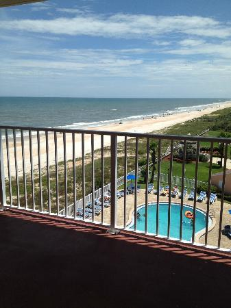 Coral Sands Inn & Seaside Cottages Ormond Beach: View from five