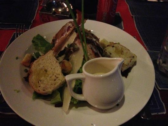 Maccaroni Club: salada