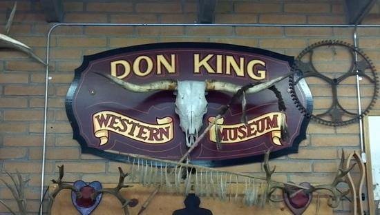 King's Saddlery and Museum: Entrance to museum at back of store.