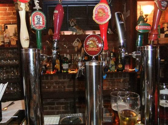 The Churchill Arms: on tap