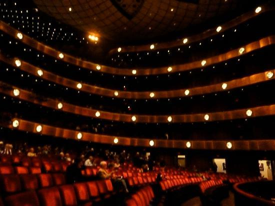 Lincoln Center For The Performing Arts Interior Of David H Koch Theater
