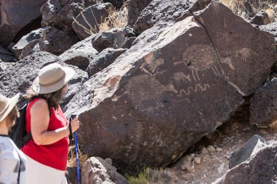 Petroglyph National Monument: Petroglyphs at Rinconada