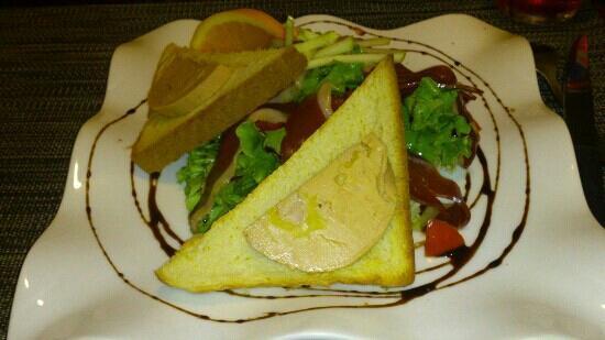 Food and Co Le: salade landaise ( manque un toast, je n'ai pas pu resister !!)