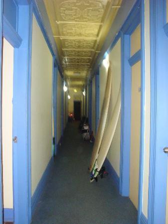 Bondi Backpackers: corridoi ostello
