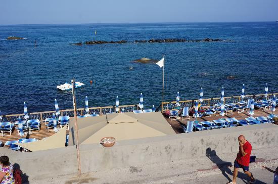 La Rotonda Sul Mare: вид на море с балкона