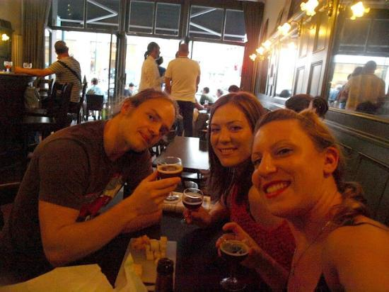 Local Brussels Beer Tours: Full of knowledge, cheese, and beer - the two of us and Pipijn!