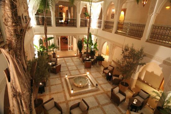 Riad Villa Blanche : Le Patio