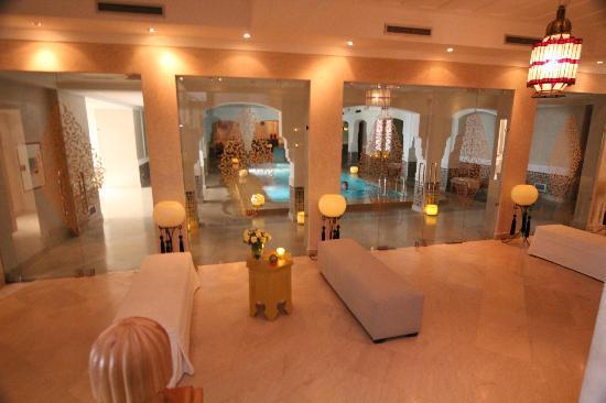 Riad Villa Blanche : Le Spa
