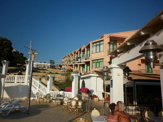 Vrsar, Hırvatistan: Vista dalla piscina