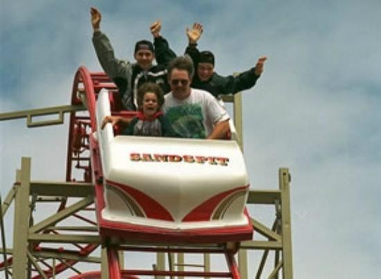 Cavendish, Canadá: Ride the Cyclone Roller Coaster