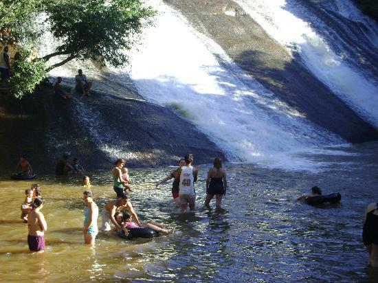 Ibiuna, SP: cachoeira