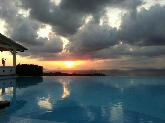 Hotel Il Parco Degli Ulivi : Prachtige zonsondergangen