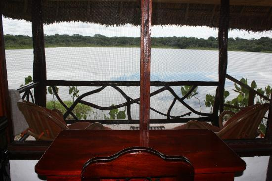 Napo Wildlife Centre: Lake view