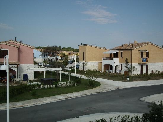 Adamo ed Eva Resort: Panorama degli alloggi privati
