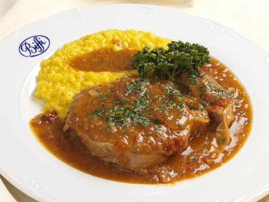 Ossobuco con risotto alla milanese picture of biffi for Best risotto in milan