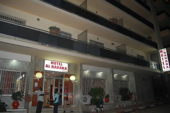 Fachada del hotel Al Baraka (Dakar)