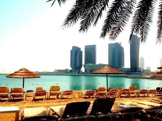 Le Meridien Abu Dhabi: Beach View