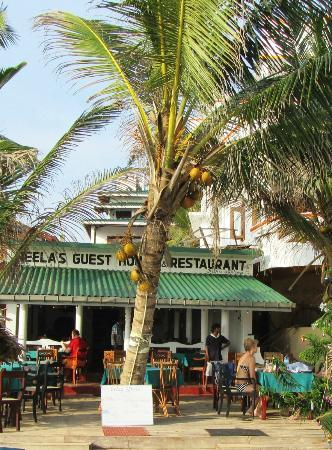 Neela's Guesthouse & Beach Restaurant: Neelas Beach Resturant