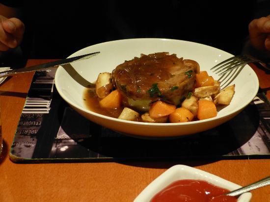 Saffy's Cafe Bar & Brasserie: Lammschulter