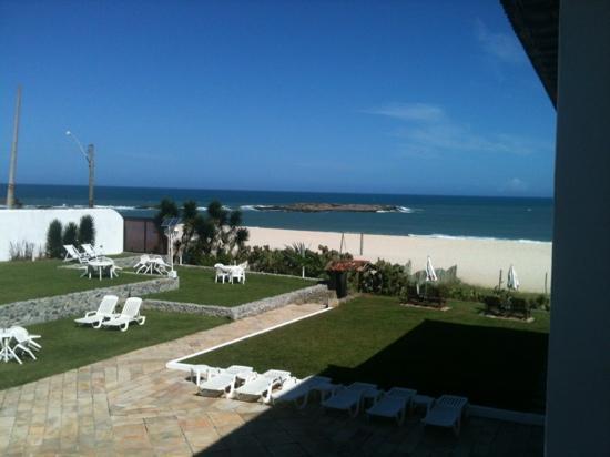 Pousada Espuma da Praia: vista do quarto 12!
