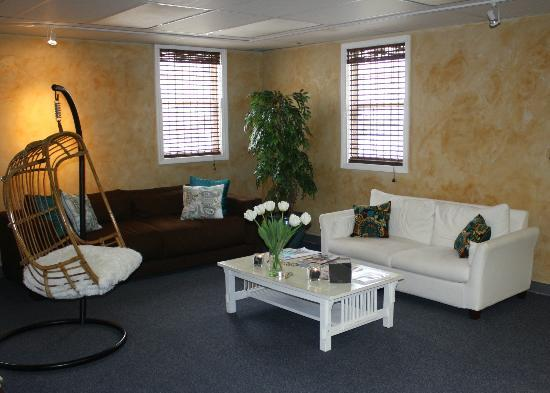 Milan Day Spa on Broughton: Upstairs relaxation room