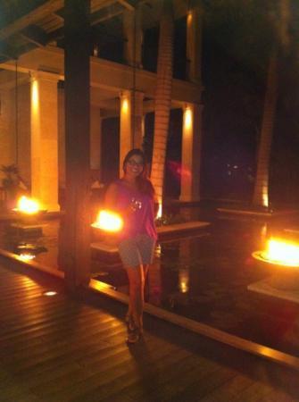 The St. Regis Bahia Beach Resort, Puerto Rico: plantation house at night