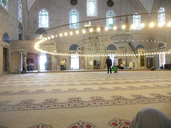 Yavuz Sultan Selim Mosque: Gebetsteppich