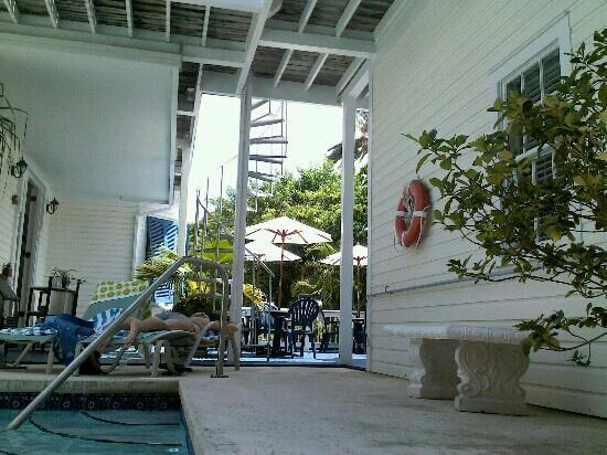 Azul Key West: view from pool