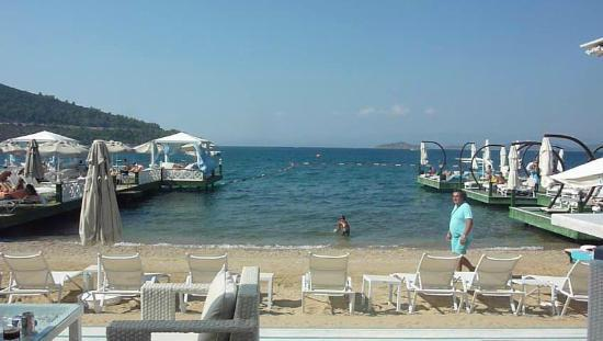 Plage de l 39 h tel torba picture of grand yazici bodrum for City of la 457