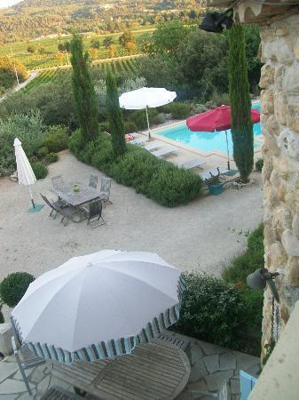 La Fontaine au Loup : Espace piscine