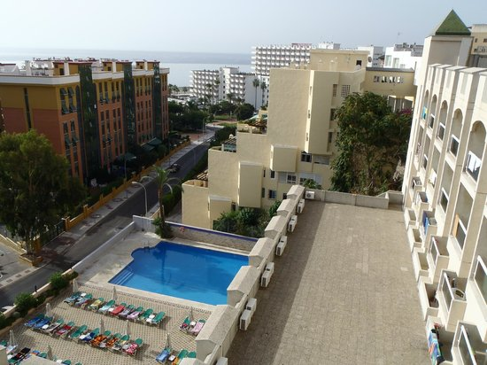 MS Aguamarina Apartments: View from the roof