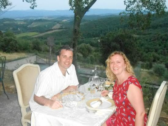 Domaine Michaud : Best table in the house (well garden actually)